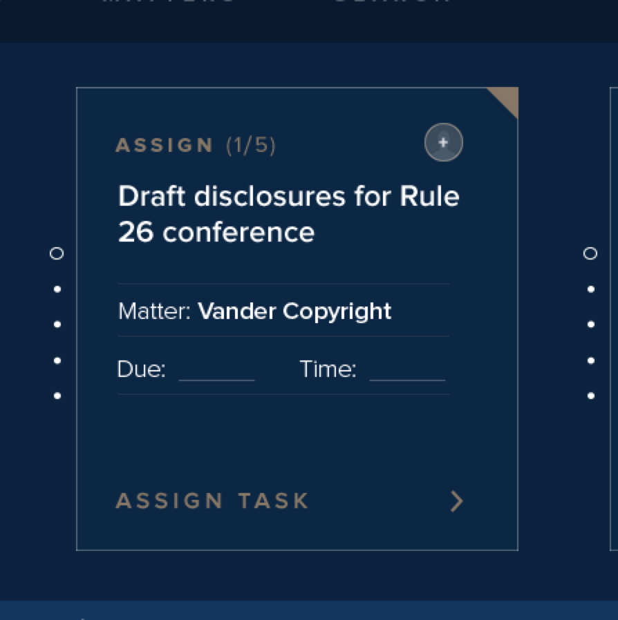 Assign Tasks